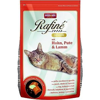 アニモンダ キャットフード ラフィーネ クロス 鶏肉・七面鳥・子羊肉 シニア猫用 1.5kg