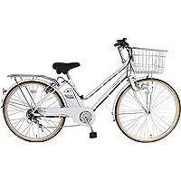 21Technology 電動アシスト自転車 (26インチ) シマノ製外装6段変速 自転車 電動アシスト シティサイクル…