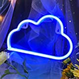 (Blue) - LED Signs Neon Lights for Wall Decor,USB or Battery Neon LED Lights for Bedroom, Decorative LED Sign for Christmas,B