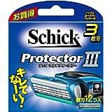 シック Schick プロテクタースリー 3枚刃 替刃 (12コ入)