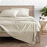 Bare Home Sheet Set - College Dorm Size - 1800 Microfiber Sheets Twin XL (Twin XL, Sand)