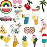 Hicarer 20 Pieces Cute Enamel Lapel Pin Set Cartoon Brooch Pin Badges Brooch Pins for Clothing Bags Jackets Accessory DIY Cra