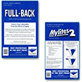 E. Gerber Full-Backs 'Current' 42-Mil Backing Boards & Mylites 2 'Current' 2-Mil Comic Book Mylar Sleeves - 50 of Each!