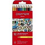 カランダッシュ スクールライン 油性色鉛筆 12色セット 紙箱入 1291-712