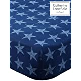 Catherine Lansfield Stars and Stripes Single Fitted Sheet Multi