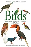 Birds of the Greater Sundas, the Philippines, and Wallacea (Princeton Illustrated Checklists)
