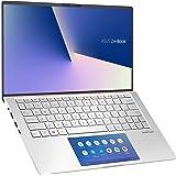 ASUS ノートパソコン ZenBook ( Core i5-10210U/8GB・SSD 512GB/13.3インチ/アイシクルシルバー)【日本正規代理店品】UX334FAC-A4116T/A
