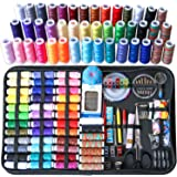 Sewing Kit, 238 Pcs Large Sewing Kit Basic Premium Sewing Supplies, 43 XL Thread Spools, Complete Needle and Thread Kit for T