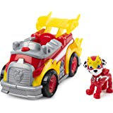 Paw Patrol 6054834 Mighty Pups Super PAWs Marshall's Deluxe Vehicle with Lights and Sounds