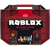 Roblox Action Collection - Collector's Tool Box and Carry Case that Holds 32 Figures [Includes Exclusive Virtual Item] - Amaz