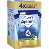 Aptamil Gold+ 2 Baby Follow-on Formula Powder Sachets From 6-12 Months 4 Pack, 123.2 g, No Flavor Available