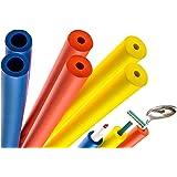 6-Pack of Foam Grip Tubing/Foam Tubing - Pefect For Utensils, Tools and More - BPA/Phthalate / Latex-Free