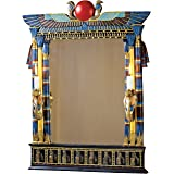 Wadjet Egyptian Wall Mirror with Cobra Sconces [Kitchen]