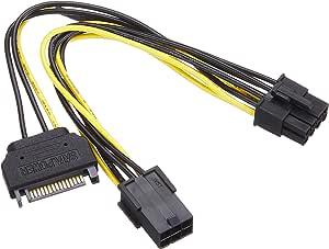 アイネックス PCI Express用電源変換ケーブル PX-012