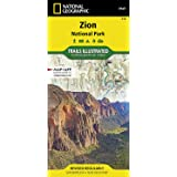 Zion National Park (National Geographic: Trails Illustrated Map #214): Trails Illustrated National Parks