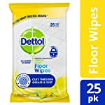 Dettol Healthy Clean Antibacterial Floor Wipes 25 Pack, 0.507 kilograms