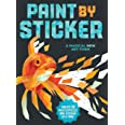 Paint by Sticker: Create 12 Masterpieces One Sticker at a Time!
