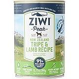 Ziwi ZP214 Peak Tripe & Lamb Recipe Canned Dog Food, 390g