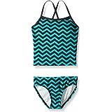 Kanu Surf Girls' Melanie Beach Sport 2-pc Banded Tankini Swimsuit
