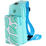 Portable Travel Carrying Case for Leaf Crossing for Nintendo Switch, Shoulder Storage Bag Backpack for Nintendo Switch Lite C