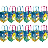 Shark Family Themed Party Favor Bags Treat Bags, 12 Pack