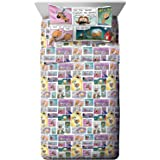 Dog Man Supa Buddies Toddler Sheet Set - 3 Piece Set Super Soft and Cozy Kid's Bedding Features Cat Kid & Lil' Petey - Fade R