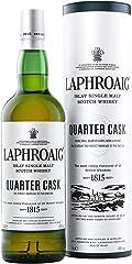 Laphroaig Quarter Cask Single Malt Scotch Whisky, 700 ml