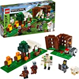 LEGO Minecraft The Pillager Outpost 21159 Awesome Action Figure Brick Building Playset for Kids Minecraft Gift, New 2020 (303