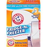 Arm & Hammer Baking Soda Fridge-n-Freezer Odor Absorber, 14 oz, Pack of 12