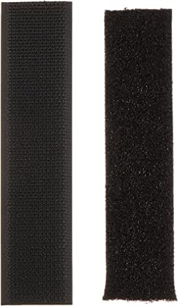 Clover ソフトマジックテープ 25mm幅 15cm 黒 26-374