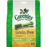 Greenies Grain Free Dental Treats For Teenie Dog, Puppy/Adult, 340 Grams, 43 Treats