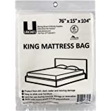 UBOXES Moving Supplies King Size Mattress Cover/Bag 76x15x90 (KINGCOVER01)