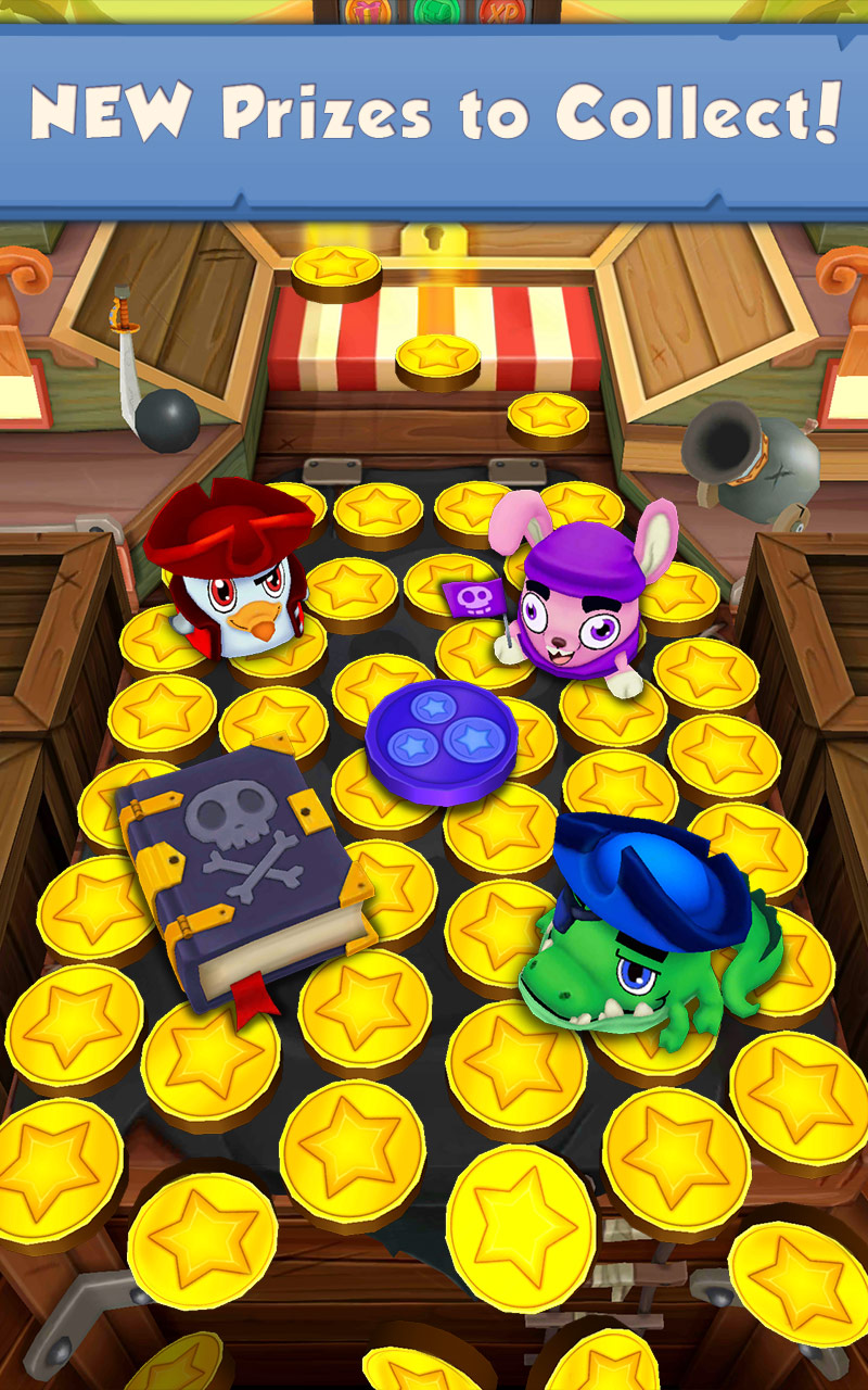 『Coin Dozer: Pirates』の4枚目の画像