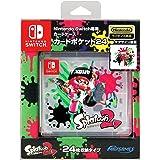 【任天堂ライセンス商品】Nintendo Switch専用カードポケット24 スプラトゥーン2