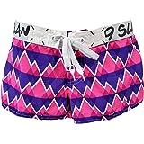 69SLAM Women's Short Length Sophia Swimwear Board Shorts