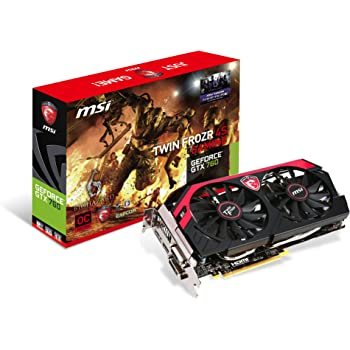MSI N760GTX Twin Frozr 4S OC グラフィックスボード 日本正規代理店品 VD5076 N760GTX Twin Frozr 4S OC