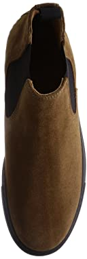 Suede Chelsea Sneaker 1331-343-6895: Brown