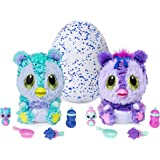Hatchimals 6046470 HatchiBabies Kitsee Hatching Egg with Interactive Pet Baby