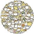 100PCS Hamster Stickers Japanese Sanrio Stickers Cute Animal Stickers Kawaii Laptop Stickers Vinyl Waterproof Stickers for Wa