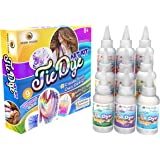 Desire Deluxe Tie Dye Kit – Set of 9 Paint Colours Ink for Dyeing Fabric, Clothes – Creative Art Craft Tie-Dye Kits Games Act