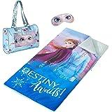 "Disney Frozen 2 Sleepover Purse with Sleeping Bag and BONUS Eyemask, 46""x26"""