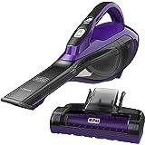 BLACK+DECKER HLVA325JP07 Cordless Pet Hand Vacuum, Pet Purple