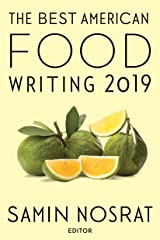 The Best American Food Writing 2019 Paperback
