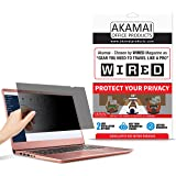 Akamai Office Products 15.6 Inch (Diagonally Measured) Privacy Screen Filter for Widescreen Laptops Anti Glare