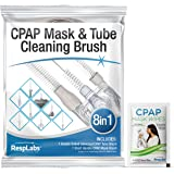 RespLabs CPAP Tube Brush. 8 in 1 System - Fits All CPAP Hose Typ (1 Pack)