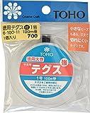 TOHO テグス 太さ約0.17mm×約100m巻 強 1号 スキ 6-100-11