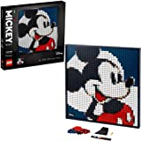 LEGO Art Disney's Mickey Mouse 31202 Craft Building Kit; A Wall Decor Set for Adults Who Love Creative Hobbies, New 2021 (2,6