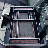 JKCOVER Center Console Organizer Tray Compatible with (2019-2020) Chevy Silverado 1500/GMC Sierra 1500, 2020 Chevy Silverado/