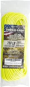 TOUGH-GRID 750ポンド(耐荷重340kg) ミルスペックパラコード 50フィート 11芯