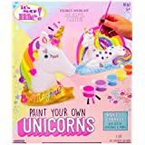 Its So Me Paint Your Own Unicorns by Horizon Group USA, Paint & Decorate 2 Plaster Unicorns, Includes 6 Acrylic Paints, 5 Met